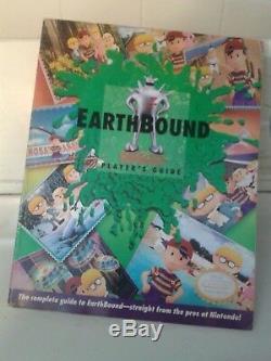 Earthbound Super Nintendo (snes) Jeu, Coffret Et Guide