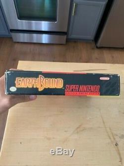 Earthbound (snes Super Nintendo) Complète Cib Avec Scratch N Sniff Très Bonne Cond