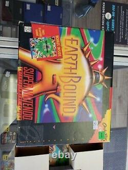 Earthbound (super Nintendo Entertainment System, 1995) 100% Cib Scratch N Sniff