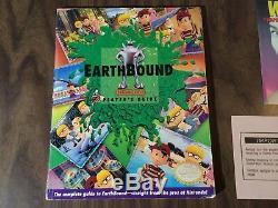 Earthbound (super Nintendo, Snes) Authentique - Complet - Avec Scratch'n Sniff