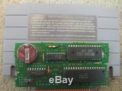Earthbound (super Nintendo Snes) Cib Complète Avec Le Magazine + 2 Inserts, 2 Cartes