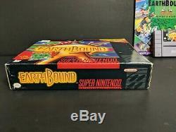 Earthbound (système De Divertissement Super Nintendo, 1995) Snes Complete Big Box