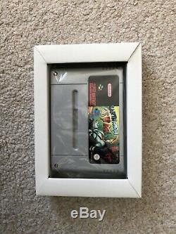 Earthworm Jim New Mint Collectionneurs Super Nintendo Snes Boxed Pal Cib