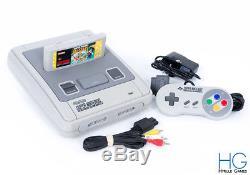 Ensemble Console Et Console De Jeu Super Nintendo Snes Avec Mario All Stars Pal