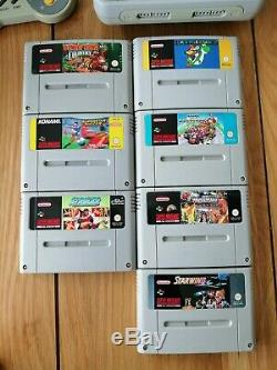 Ensemble Snes De La Console Super Nintendo Entertainment System