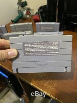 Epic Authentique 34 Jeu Snes Super Nintendo Collection Final Fight Guy Contra 3