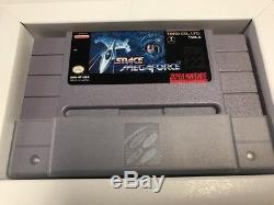 Espace Megaforce (super Nintendo Snes) Complète Cib