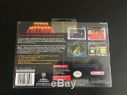 Etanche Super Metroid Rare