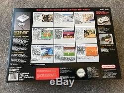 État Neuf Super Nintendo Console Snes Marque Nouveau Col Non Ouvert Collectors