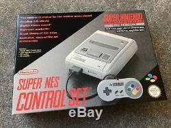 État Neuf Super Nintendo Snes Console Super Nes Brand New Pal Non Ouvert