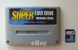 Everdrive Super Nintendo Cartouche Snes + Sd 8go + De 800 Libre Région Jeux