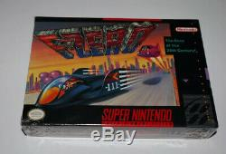 F-zero Super Nintendo Snes Scellé En Usine
