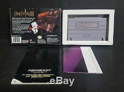 Final Fantasy III (super Nintendo Entertainment System, 1994) Snes Complète Cib