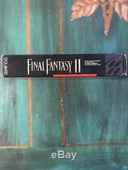 Final Fantasy II (système De Divertissement Super Nintendo, 1991) Cib
