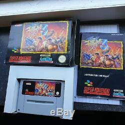 Final Fight 3 Snes Cib Rare Super Nintendo