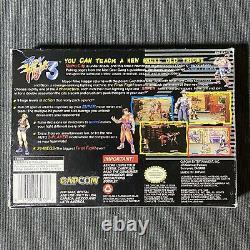 Final Fight 3 Super Nintendo Snes Capcom Jeu Vidéo Complet Cib