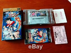 Final Fight 3 Tough Nintendo Super Famicom / Super Nintendo Snes Reg Card