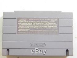 Final Fight 3 (super Nintendo, 1995) Snes Nettoyé Teste Authentique
