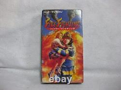 Fire Fighting Super Famicom Nintendo Jeux Vidéo Japon Snes