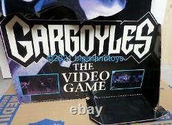 Gargoyles 1995 Goliath Snes Genesis Standee Affichage Du Magasin De Jeux Vidéo 31x45 2side