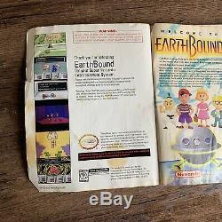 Guide De Jeu Et De Stratégie Earthbound Snes Authentic Super Nintendo