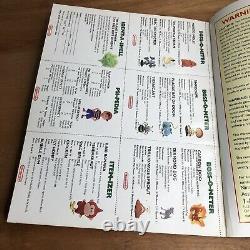 Guide Des Joueurs Terrestres Avec Tous Les Stickers Scratch-and-sniff Snes Super Nintendo
