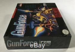 Gunforce (super Nintendo Snes) Toute Nouvelle Usine Sealed Force Gun