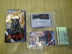 Hagane Sfc Nintendo Super Famicom Snes