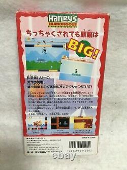 Harleys Aventure Nintendo Super Famicom Snes Japon Jeux Vidéo