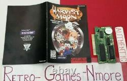 Harvest Moon Super Nintendo Authentic Snes Pict Réel. Fast Intl Sh. Look Bien
