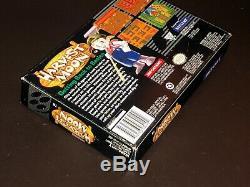 Harvest Moon Super Nintendo Box Snes Et Manuel Uniquement Sans Jeu