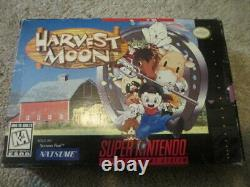 Harvest Moon (super Nintendo Snes) Complet Cib Nice