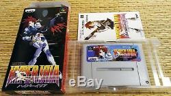 Hyper Iria Snes Nintendo Super Famicom Sfc Jeu Soft Japan Import Bonne Condition