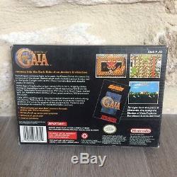 Illusion De Gaia Super Nes Nintendo Snes Etats-unis En Boîte USA Ntsc Testée