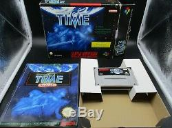 Illusion Of Time Big Box Snes Super Snp Super Snp Top