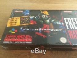 Instinct De Tueur Regarder Big Box New Neu Unbespielt Sealed Super Nintendo Snes Ovp