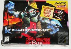 Instinct De Tueur Super Nintendo Snes Marque Nouveau! Scellé En Usine