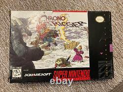 Jeu Chrono Trigger, Complete W Box, Manual, Etc. (pour Snes Super Nintendo)