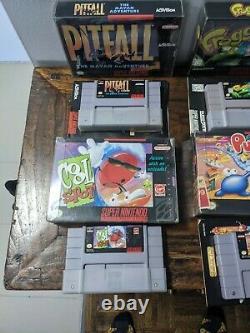 Jeu De Snes Lot De 13. Super Nintendo En Boîte