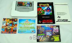 Jeu Super Mario World 2 Yoshi's Island Super Nintendo Snes Neuf Pal Nouveau