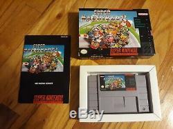 Jeu Super Nintendo Snes 9 Actraiser Mega Man X Mario Kart Complet Dans La Boîte