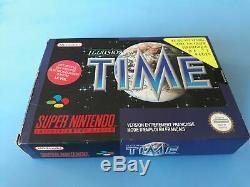 Jeu Super Nintendo Snes Illusion Du Temps + Guide