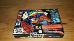 Jeu Super Nintendo Snes La Mort Et Le Retour De Superman Complet