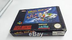 Jeu Super Nintendo Snes Megaman Mega Man X2 Complet