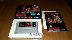 Jeu Super Nintendo Snes Tko Super Championnat De Boxe Complet Rfa