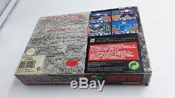 Jeu Super Nintendo Snes Wolfenstein 3d Complet