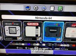 Jeux Snes Classic 7500+ Super Nintendo Classic À Réinitialisation Rapide Et Turbo Mod
