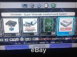 Jeux Snes Classic 8000+ Super Nintendo Classic À Réinitialisation Rapide Et Turbo Mod