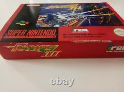Juego Completo Super Nintendo Snes R-type III 3 Versión Pal 100% Original Cib