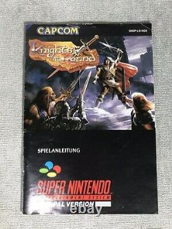 Juego Snes Knights Of The Round Muy Buen Estado Pal Super Nintendo